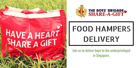 The Boys' Brigade Share-a-Gift 2019 Food Hampers Delivery tickets