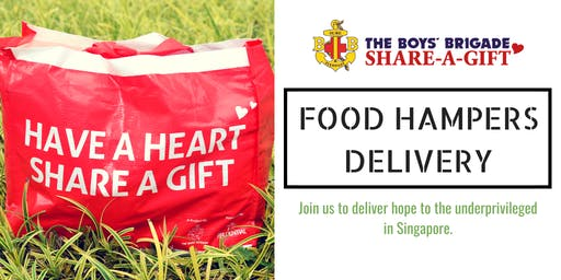 The Boys' Brigade Share-a-Gift 2019 Food Hampers Delivery