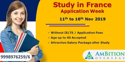 Study in France Application Week