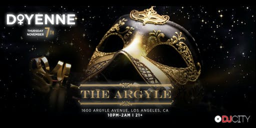 New Venue, Who Dis? - 'Doyenne' at The Argyle in Hollywood on Thursday, November 7th