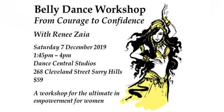 Belly Dance Workshop: From Courage to Confidence tickets