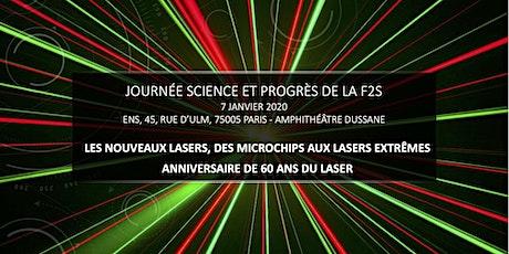 Journée Science et Progrès de la F2S billets
