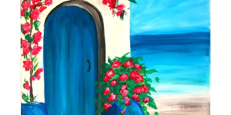 Sip & Paint Workshop 'Greek House'  tickets