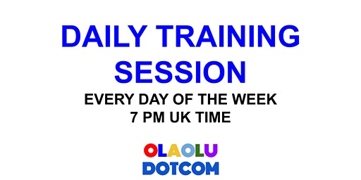 DAILY TRAINING SESSION