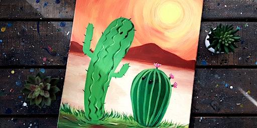 Sip & Paint Workshop'Cactus Buddy '
