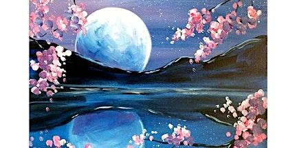 Sip & Paint Workshop 'Lucid lake'