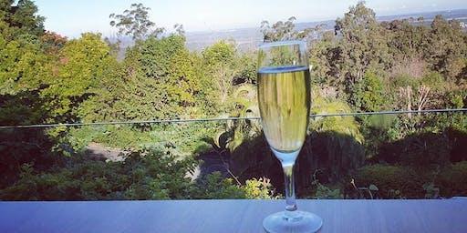 VIP Sunshine Coast Champagne Club on the terrace at Buderim - Sunday 24 November 2019
