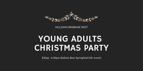 Young Adults Christmas Party - Hillsong Brisbane West tickets
