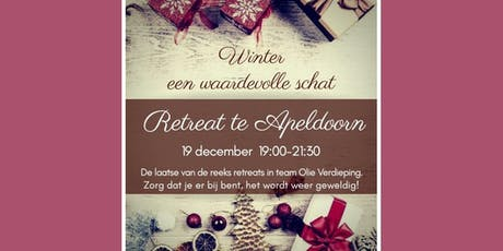 Olieverdiepingsavond Apeldoorn 19 december 2019 tickets