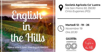 English in the Hills - Typical Wine & Food | Free English practice