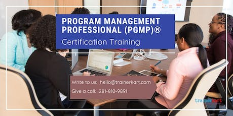 PgMP Classroom Training in Corner Brook, NL tickets