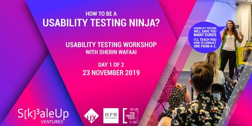 How to be a Usability Testing Ninja: Day 1 of 2