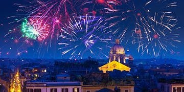 New Year's Eve Roma Terrace Party