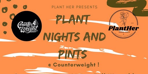 Plant Nights and Pints: Create a Living Fall Wreath!