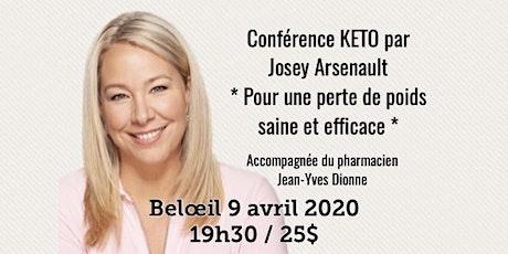 BELOEIL - Conférence KETO - Pour une perte de poids saine et efficace! 25$ billets