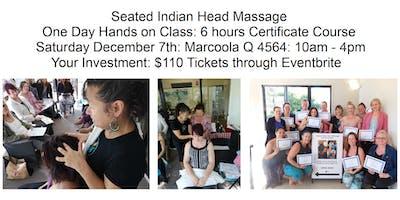 Learn Seated Indian Head Massage Sat Dec 7 Marcoola Q 4564