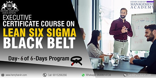 Lean Six Sigma Black Belt Course by Henry Harvin Education