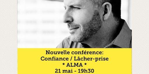 ALMA - Confiance / Lâcher-prise 15$
