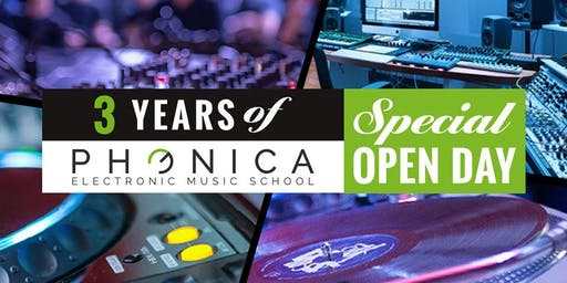 3 Years of Phonica School - Special Open Day
