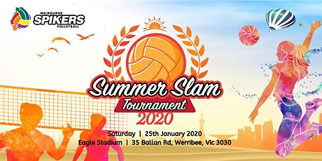 MELBOURNE SPIKERS SUMMER SLAM VOLLEYBALL TOURNAMENT 2020 tickets