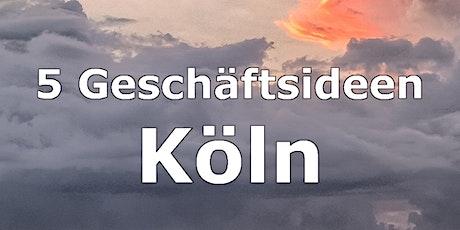 5 Geschäftsideen, um sich in Köln nebenher selbstständig zu machen Tickets