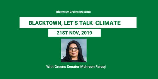 BLACKTOWN, LET'S TALK CLIMATE