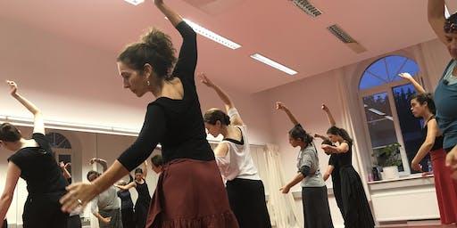 Schnupperstunde für Flamenco-Tanz