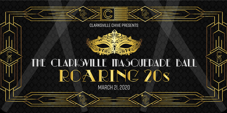 The Clarksville Masquerade Ball - Great Gatsby tickets