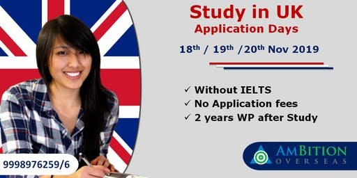 Study in UK Application Days
