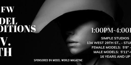 Free fashion show and model party Nov 15