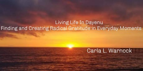 """""""Living Life in Dayenu..."""" Book Release tickets"""