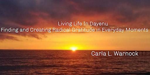 """Living Life in Dayenu..."" Book Release"