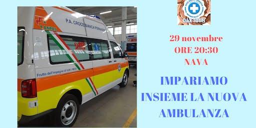 Impariamo insieme la nuova ambulanza