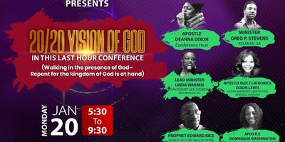THE 20/20  VISION OF GOD ~ IN THIS LAST HOUR