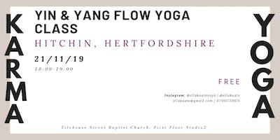 Karma Yoga: Yin & Yang flow