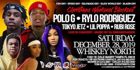 POLO G x RYLO RODRIGUEZ x TOKYO JETZ x LIL POPPA x RUBI ROSE THE BLACKOUT tickets
