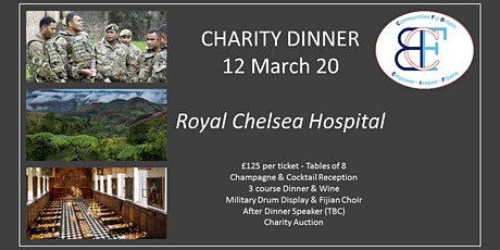 Communities Fiji Britain Charity Dinner tickets