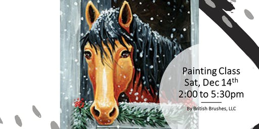 Painting Class - Holly the Horse - Free $5 Tradewind gift card
