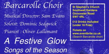 "Barcarolle Choir concert ""A Festive Glow- Songs of the Season"" tickets"