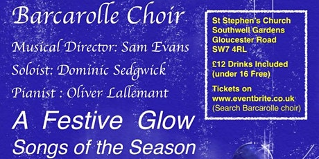 "Barcarolle Choir concert ""A Festive Glow- Songs of the Season"" tickets"