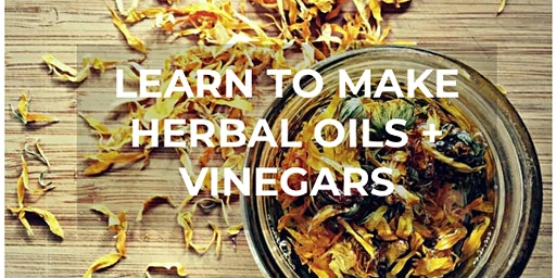 Herbal Oils + Vinegars Workshop
