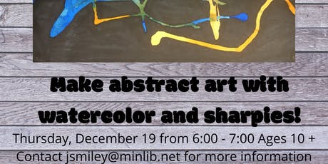 Abstract Art tickets