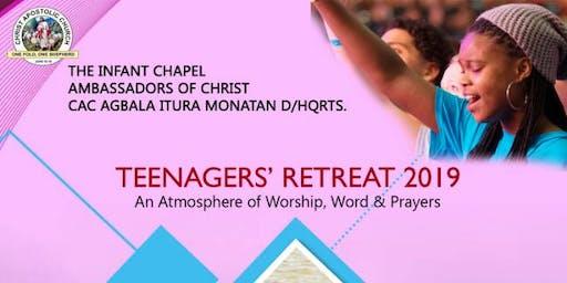 Teenagers' Retreat 2019
