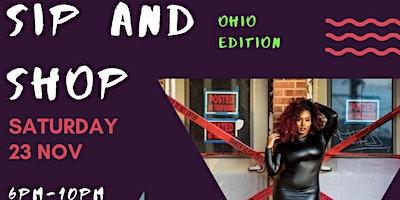 Ohio sip and shop