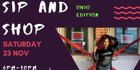 Ohio sip and shop tickets