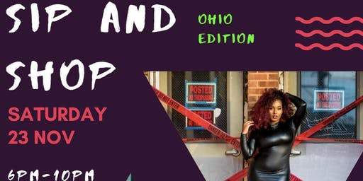 Ohio sip and shop