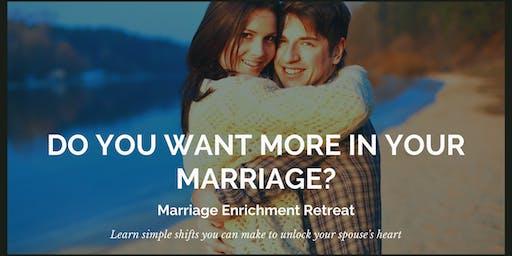 Marriage Enrichment Retreat