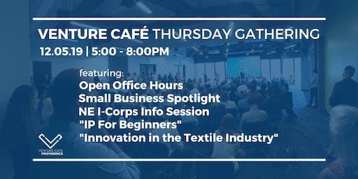 Venture Café Thursday Gathering at District Hall Providence