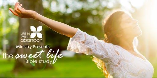 The Sweet Life Bible Study October 20, 2020