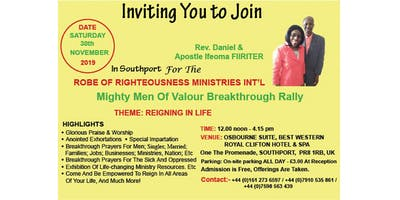 RORMI Mighty Men Of Valour Breakthrough Rally